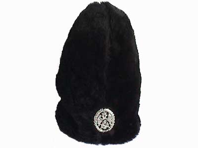 d4f03888ec5 Black Serbian winter hat with kokarda   Small Serbian Shop