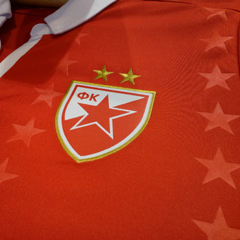 Macron red FC Red Star jersey 2018 19   Small Serbian Shop 62371920e