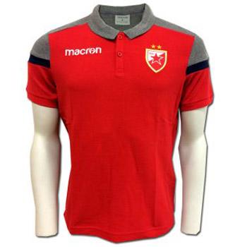 3f95b124f Macron polo shirt - red   Small Serbian Shop
