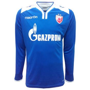 Macron FC Red Star goalie jersey 2017 18 - blue   Small Serbian Shop cafd4bebd