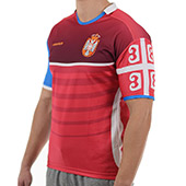 Supporters jersey Rugby Serbia - slim fit