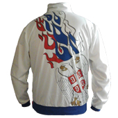 Serbia eagle tracksuit - white model B