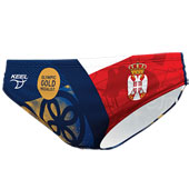 Official waterpolo trunks Serbian national team (gold edition)