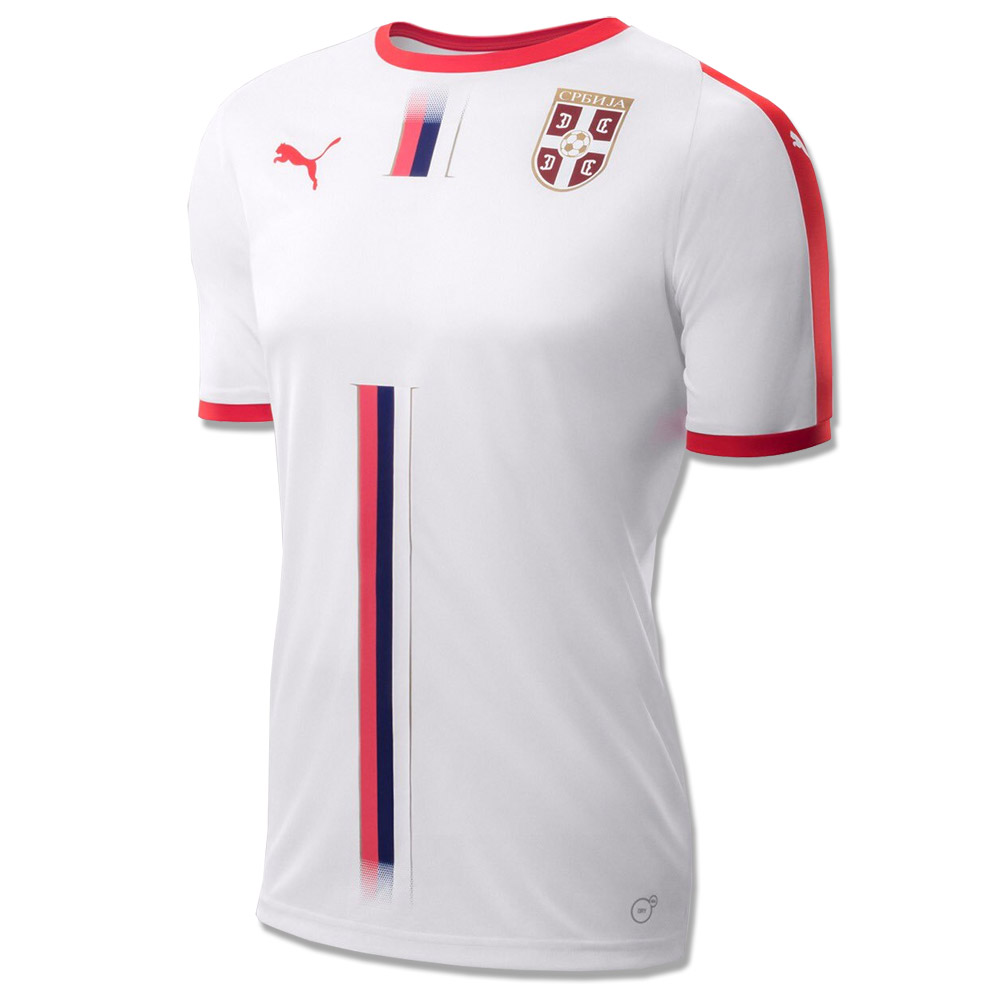new arrivals 17add 1e3d1 Puma Serbia away jersey for World Cup 2018