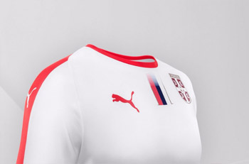 51c2a735a Puma Serbia away jersey for World Cup 2018   Small Serbian Shop