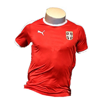 7737a192e Puma Serbia home jersey for World Cup 2018 : Small Serbian Shop