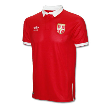 15272de92fc Umbro Serbia home jersey 16 17   Small Serbian Shop