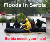 Serbia flood relief